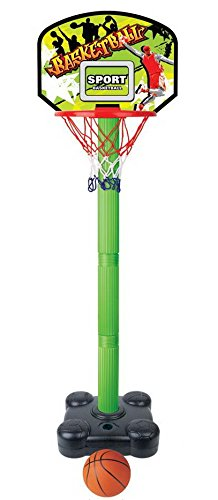 Kids Junior Portable Indoor Adjustable Basketball Hoop Stand