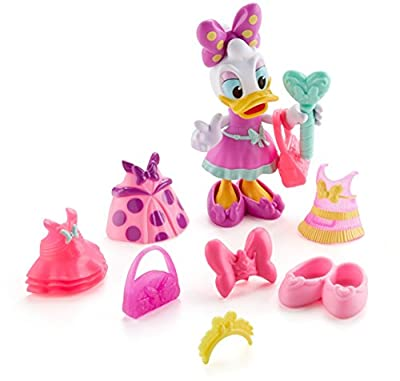Fisher-Price Disney Junior Minnie Royal Ball Daisy Doll and Fashion Pieces