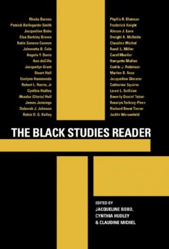 Download The Black Studies Reader pdf