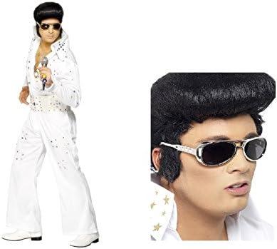 Fancy Dress Four Less Elvis Presley - Disfraz de Elvis para adulto ...