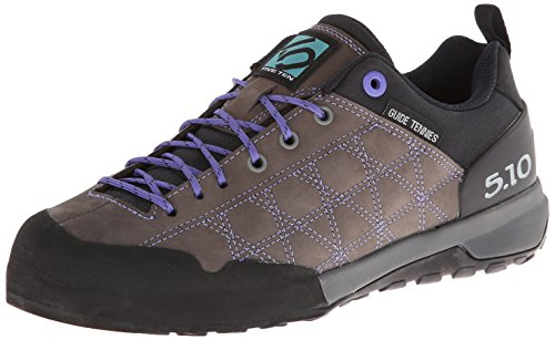 Five Ten Women's Guide Tennie Approach Shoe, Charcoal/Iris, 9.5 M US by Five Ten