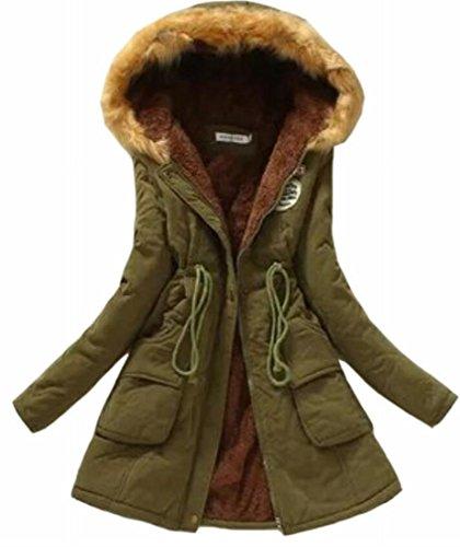 Xswsy XG Women Classic Hoodie Warm Coats Parkas with Faxu Fur Jacket 2 M - Abercrombie Fur Jacket