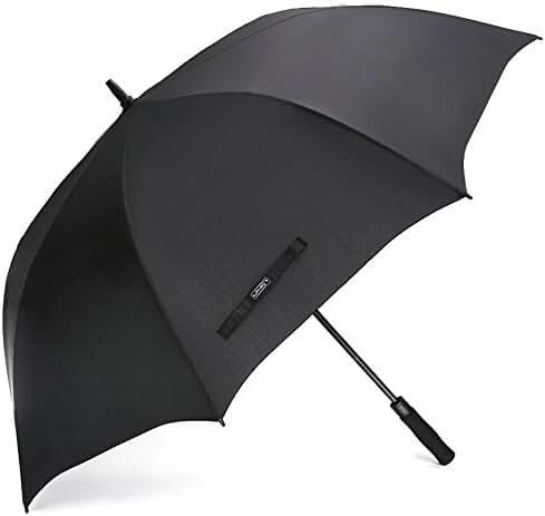 G4Free Automatic Open Golf Umbrella Extra Large 62 / 68 Inch Windproof Oversize Waterproof Stick Umbrellas for Men Women