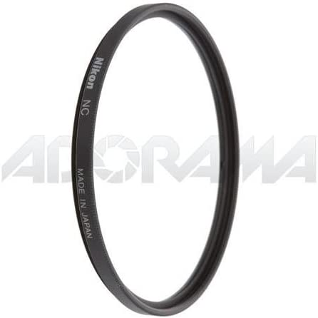 77mm NC Neutral Clear Filter and 77mm Circular Polarizer II Thin Ring Multi-Coated Filter Nikon 77mm Filter Set
