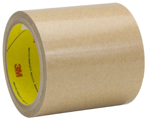 3M Adhesive Transfer Tape 950 Clear, 16 in x 60 yd 5.0 mil (Pack of 1) by 3M
