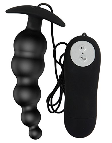 PNBB Anal Sex Toy Vibrating Anal Plug and Prostate Massager - Anal Trainer Butt Plug - 12 Stimulation Modes Vibrator - for Men - Women or Couples
