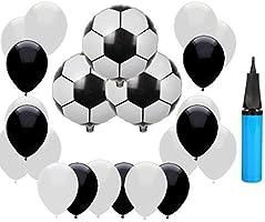 Hemore utopp 18 Globos de fútbol, 2018 Decoraciones de Fiesta de ...