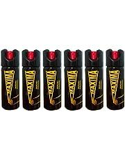 Paquete de 6 Gas Pimienta Mediano 90 g 100% Potente