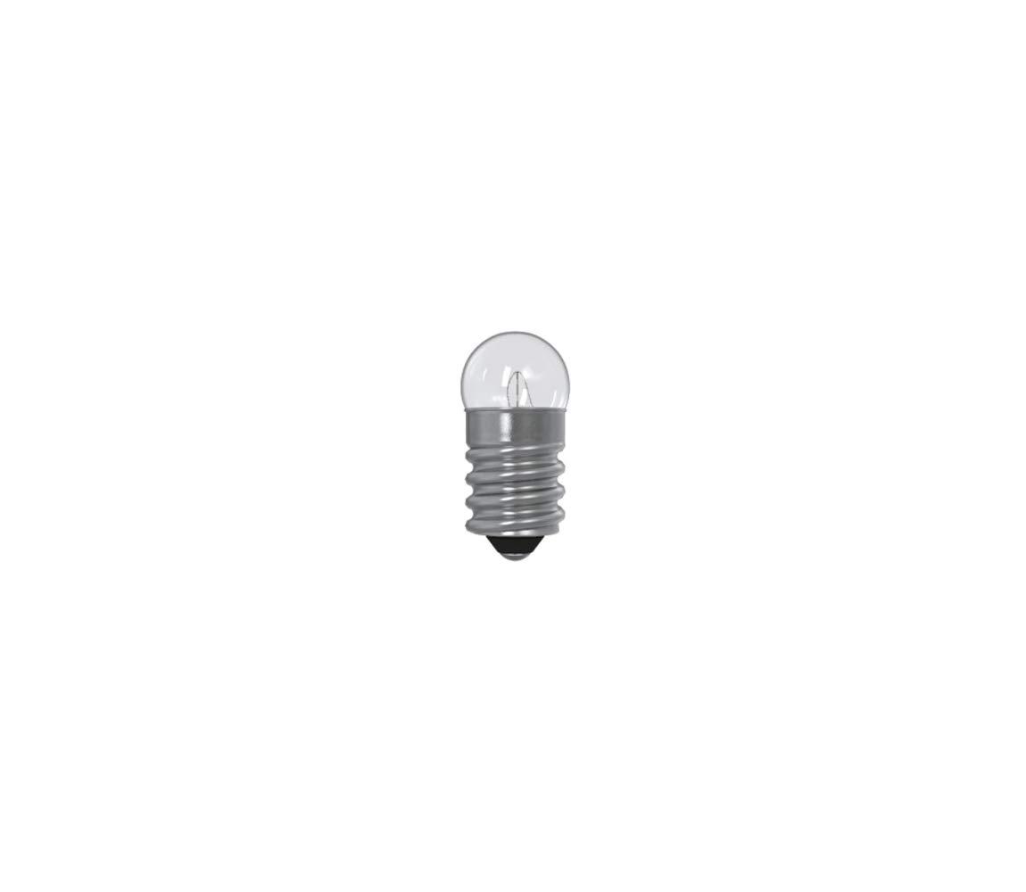 Gl/ühbirne f/ür Taschenlampen E10//0,6W//2-5V