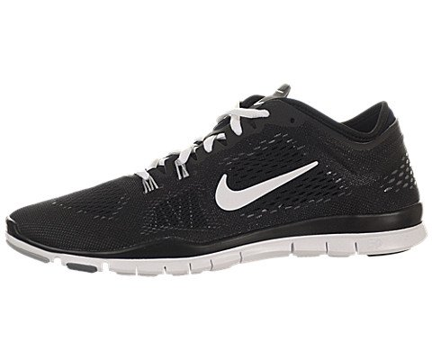 Nike Women's Free 5.0 TR Fit 4 Black/White/Cool Grey/Wlf Grey Training Shoe 6... (Cool Womens Nike Tennis Shoes compare prices)
