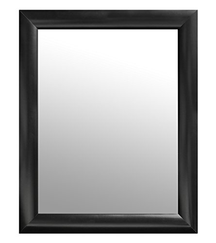 Black Rectangular Modern Mirror 24x30 Inch product image