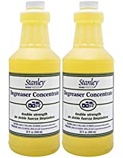 Stanley Home Products Degreaser Concentrate - Removes Stubborn Grease & Grime - Multipurpose Cleaner for Home & Commercial Use