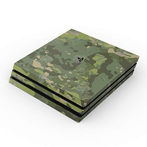 SOFLETE Tropical Multicam Full Faceplates Skin Decal Wrap with 2 Piece Lightbar Decals for Playstation 4 Pro from DecalGirl