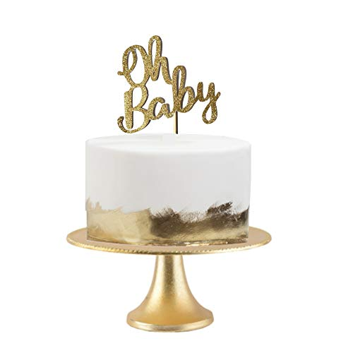oh baby cake topper baby shower glitter oh baby baby topper baby shower supplies tribal baby shower baby shower oh baby -