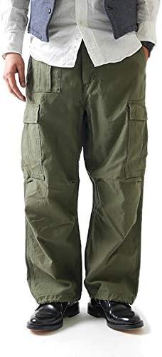 Nigel Cabourn ナイジェルケーボン M-51 ミリタリーカーゴパンツ ARMY CARGO PANT 80420050012 アーミー 実物 日本製 メンズ