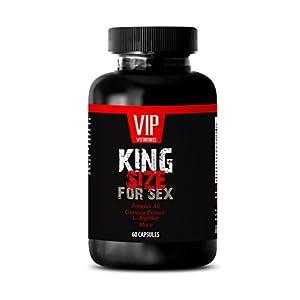Sexual pleasure for men - King SIZE For SEX - Tribulus, Catuaba, Cayenne, Tongkat Ali, Nettle, Cayenne, Muira Puama - 1 Bottle 60 Capsules