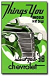 1938 Chevrolet Car Owners Manual 38 Chevy