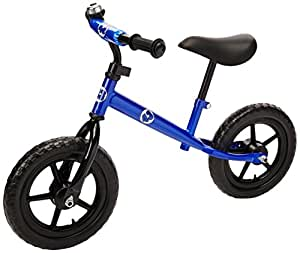 Vilano No Pedal Push Balance Bicycle for Children, Blue