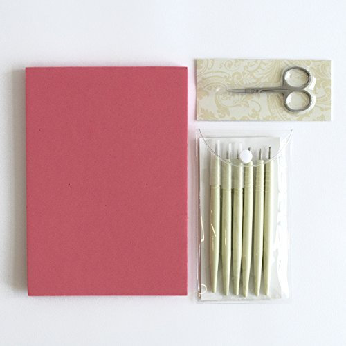 """Anna Griffin INC Anna Griffin AG-603H Parchment Craft Tool Set, 9.5""""x 8.5""""x1.0"""", White, Ivory"""