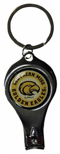 NCAA Southern Miss Golden Eagles Keychain Nailclipper