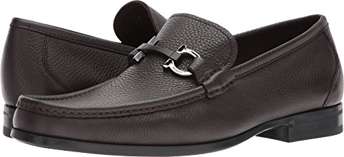 Salvatore Ferragamo Men's Grandioso Bit Loafers, Hickory, 11.0 D M US