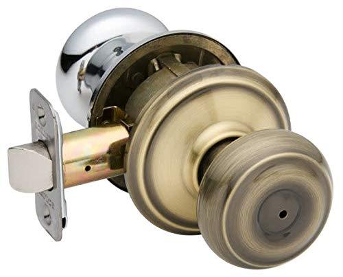 (Schlage Lock Company F40GEO609625 Georgian Privacy Antique Brass/Polished)