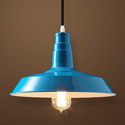 Dark Blue Pendant Light