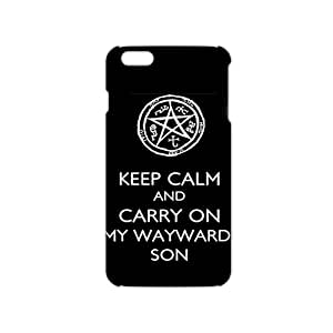 Slim Thin Keep Calm And Carry On My Wayward Son Phone Case for iPhone 6