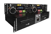 Denon DJ DN-D4500MK2 | Dual CD/MP3/USB Player with Shock-Proof Memory (CD-R/RW Discs / AAC, AIFF, MP3, WAV files)