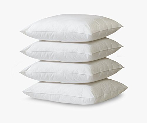 BioPedic Eco-Classic 240-Thread Count Standard Pillows, 4-Pack