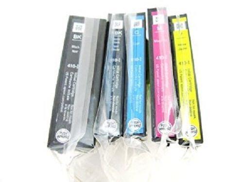 Genuine Epson 410 Initial Ink Cartridge 5 Pack for Expression Premium XP-530 XP-630 XP-635 XP-830 Printer Photo #2