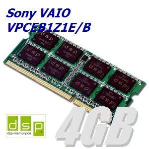 DSP - Memoria RAM (4 GB) para ordenador portátil Sony Vaio VPCEB1Z1E/B: Amazon.es: Electrónica