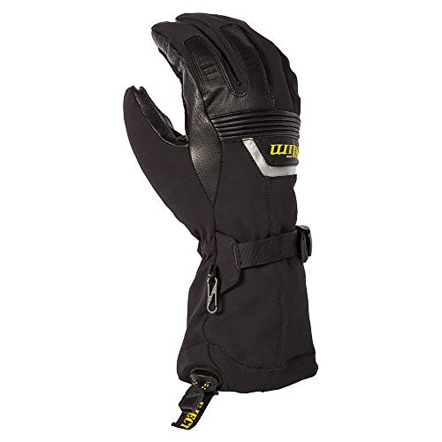 KLIM Fusion Men's Ski Snowmobile Gloves - Black/X-Large