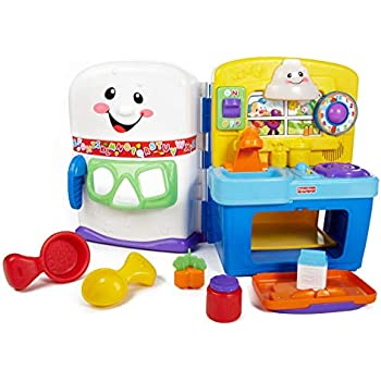 Amazon Com Fisher Price Laugh Amp Learn Learning Kitchen