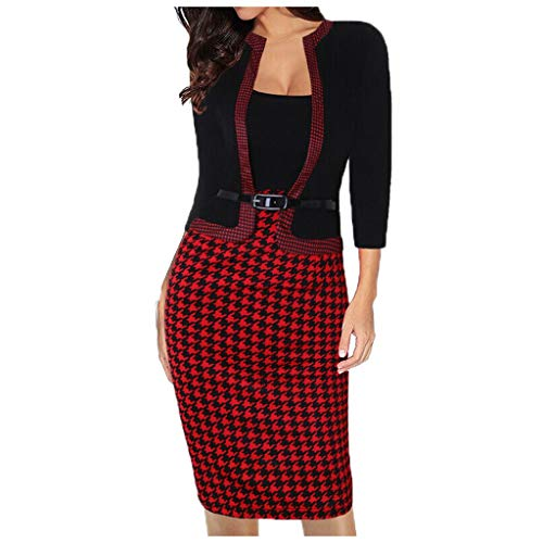 Aunimeifly Women Business Costumes Office Work Formal