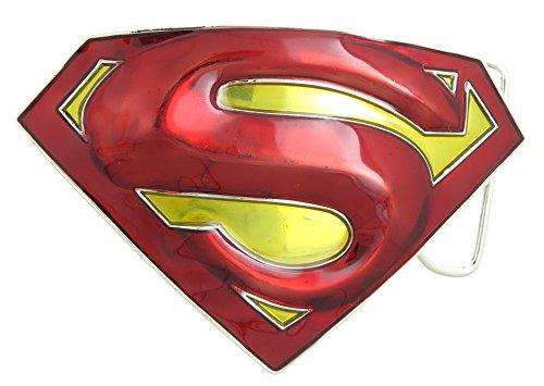 Superman Fashion Belt (Superman Red & Yellow Belt)
