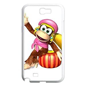 Samsung Galaxy N2 7100 Cell Phone Case White Super Smash Bros Diddy Kong SUX_135845
