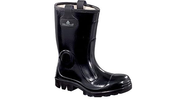 Delta plus botas - Juego bota seguridad ecrins negro talla 44(1 par): Amazon.es: Bricolaje y herramientas