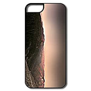 IPhone 5/5S Cover, Mountain White/black Covers For IPhone 5/5S
