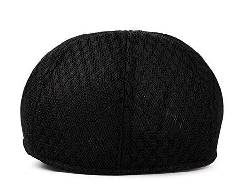 Moda Gorro hat GLLH qin Transpirable de Malla B C de Sombreros Boina Hombre Sombrero de cómodo rX7qxq5