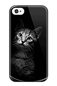 Tpu Fashionable Design Cat Indside Dryer Rugged Case Cover For Iphone 4/4s New