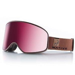 Native Eyewear Tenmile, Exposure, Silver
