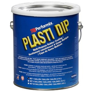 - Plasti Dip Performix 10109 Clear Multi-Purpose Synthetic Rubber Coating, 1 gal.