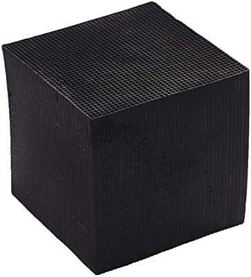 Miyanuby Honeycomb Carbon Activado, Nano Cubo purificador de Agua ...
