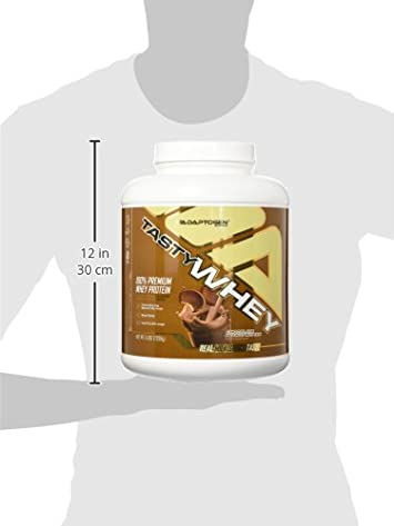 Adaptogen Science Tasty Whey Protein Supplement, Chocolate Peanut Butter, 5 Pound