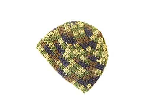 - Crochet Baby Hat, Camo Colors, 3-6 months