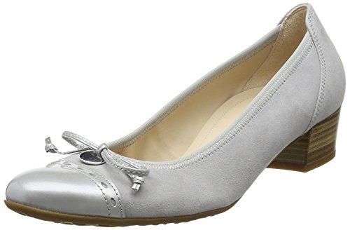 Gabor Damen Comfort Pumps Grau (light grey 40)