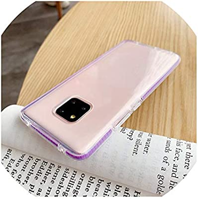 Amazon.com: Slim Silicone Case for Huawei Mate 20 P30 Pro ...