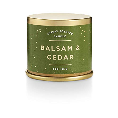 Illume Balsam & Cedar 3 oz Demi Tin