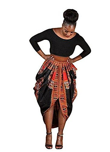 high low african print dresses - 6